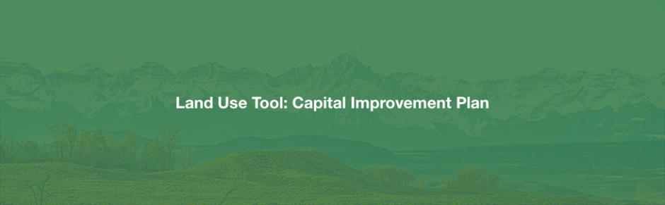 Capital improvement plan planning for hazards how it works malvernweather Images